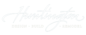 Huntington Remodeling Logo in White
