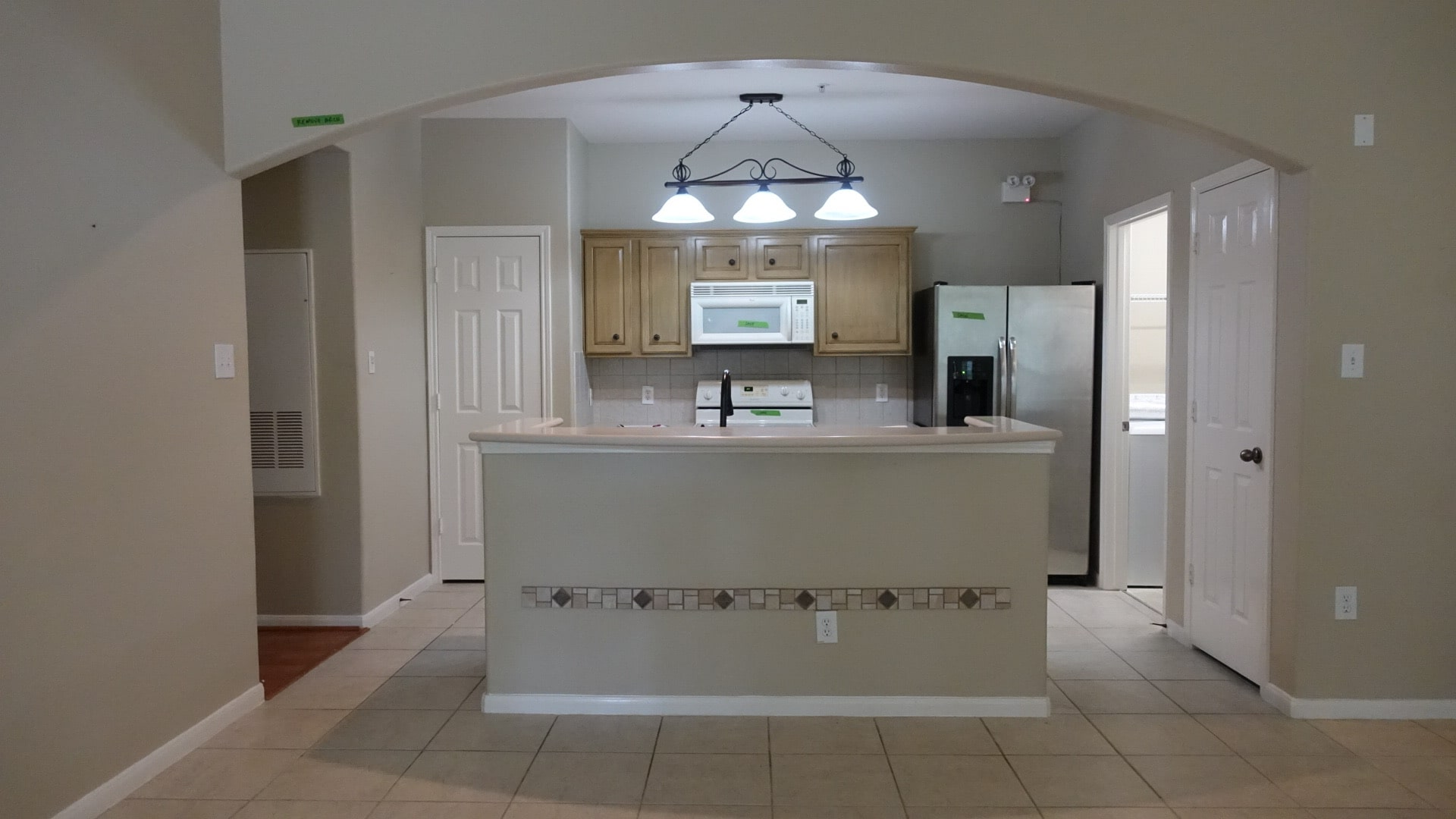 Before Picture of Condo Kitchen Remodel